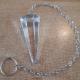 Clear Crystal Pendulum (A)