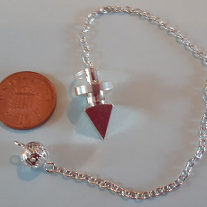 Silver-Plated 4-Sided Pendulum