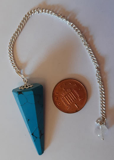 Turquoise Gemstone Pendulum