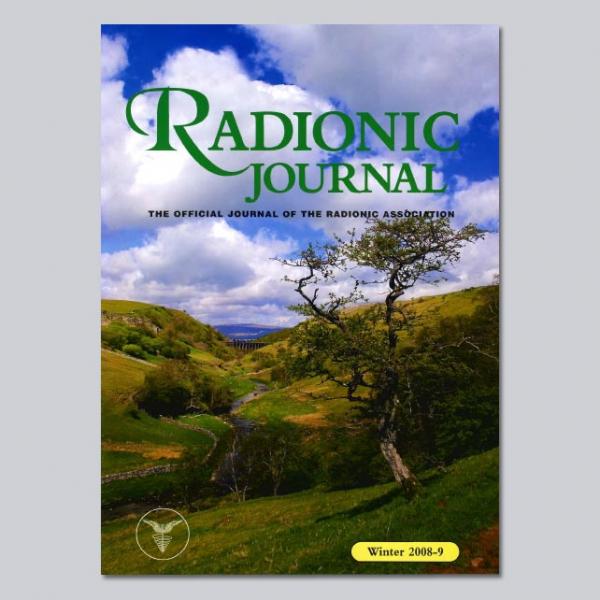 Radionic Journal - Winter 2008-9