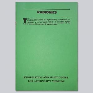 Radionics - by R J Bloomfield.